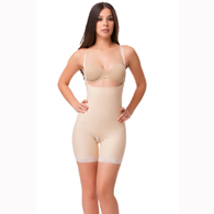 Isavela BE06 Stage 2 Open Buttocks Body Suit & Suspenders