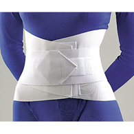 FLA Orthopedics 31-208 Lumbar Sacral Support with Abdominal Belt