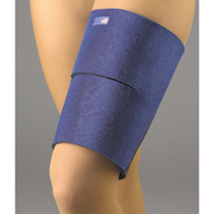 FLA Orthopedics 37-105UNNVY EZ-On Thigh Wrap Support-Navy-Universal