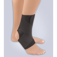 FLA Orthopedics 40-550 Safe-T-Sport EZ-On Wrap-Around Ankle Support