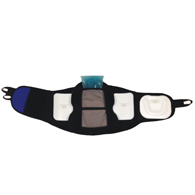 PAKmed PAKback 637 Lumbar Sacral Orthosis Braces w/ Removable Panel
