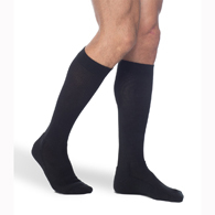 SIGVARIS 182C 15-20 mmHg Mens Cushioned Cotton Socks