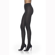 SIGVARIS 843P 30-40 mmHg Soft Opaque Pantyhose-Open Toe